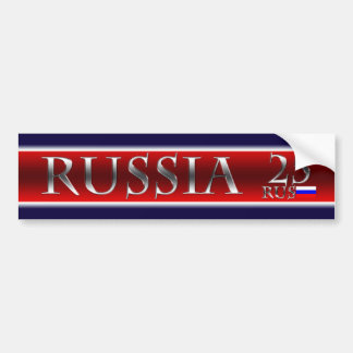 Pegatina para el parachoques de Rusia Pegatina Para Auto