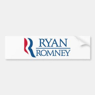 Pegatina para el parachoques de Ryan Romney Etiqueta De Parachoque
