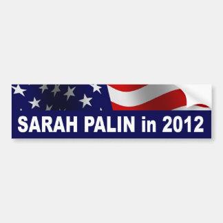 Pegatina para el parachoques de Sarah Palin en 201 Pegatina Para Auto