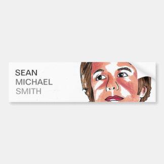 Pegatina para el parachoques de Sean Michael Smith Pegatina Para Auto