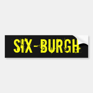 Pegatina para el parachoques de SixBurgh de los Pi Pegatina Para Auto