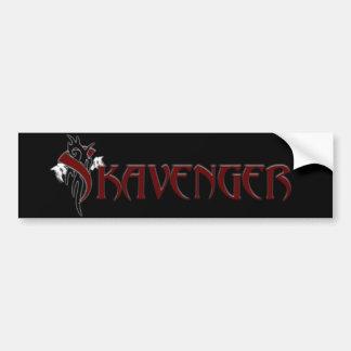 Pegatina para el parachoques de Skavenger Pegatina Para Auto