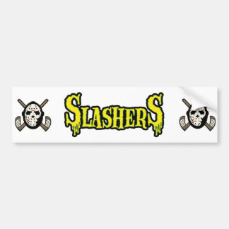Pegatina para el parachoques de Slasher Pegatina Para Auto