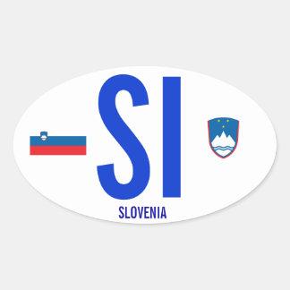 Pegatina para el parachoques de Slovenia*