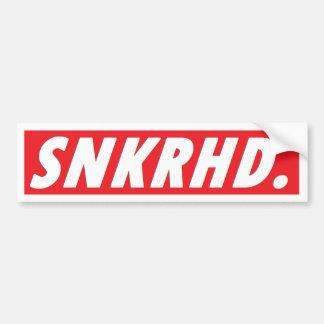 Pegatina para el parachoques de SNKRHD Etiqueta De Parachoque