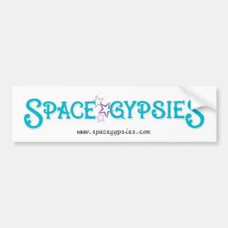 Pegatina para el parachoques de SpaceGypsies Etiqueta De Parachoque