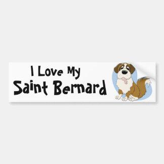 Pegatina para el parachoques de St Bernard Pegatina Para Auto