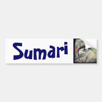 Pegatina para el parachoques de Sumari Pegatina Para Auto