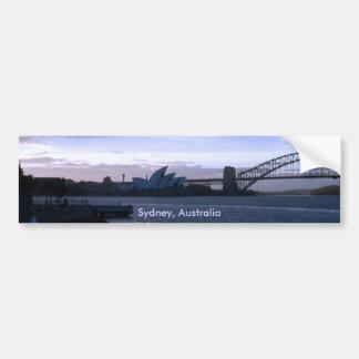 Pegatina para el parachoques de Sydney, Australia Pegatina Para Auto