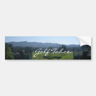 Pegatina para el parachoques de Tahoe del golf Gol Pegatina De Parachoque