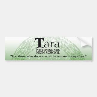 Pegatina para el parachoques de Tara Pegatina Para Auto