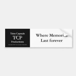 Pegatina para el parachoques de TCP Etiqueta De Parachoque