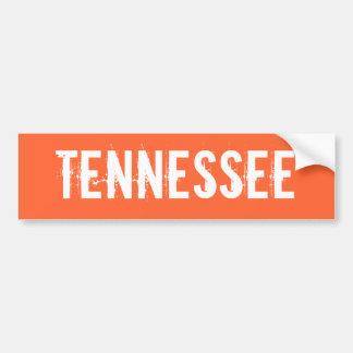 Pegatina para el parachoques de Tennessee Pegatina Para Auto