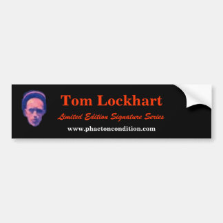Pegatina para el parachoques de Tom Lockhart Pegatina Para Auto