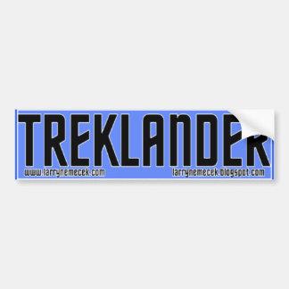 Pegatina para el parachoques de Treklander Pegatina Para Auto