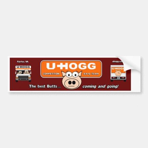 Pegatina para el parachoques de U-HOGG Pegatina De Parachoque