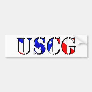Pegatina para el parachoques de USCG Pegatina Para Auto