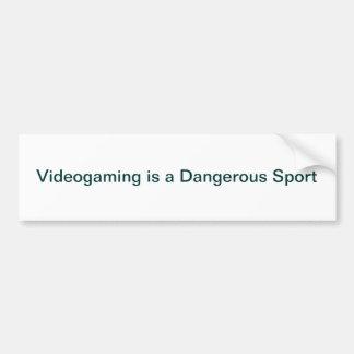 Pegatina para el parachoques de Videogaming Pegatina Para Auto