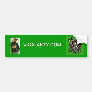 Pegatina para el parachoques de Vigalanty Etiqueta De Parachoque