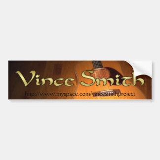 Pegatina para el parachoques de Vince Smith Pegatina Para Auto