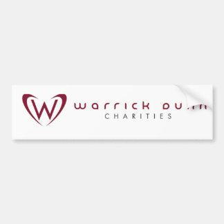 Pegatina para el parachoques de WDC Pegatina Para Auto