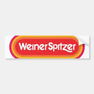 Pegatina para el parachoques de WeinerSpitzer '13 Pegatina Para Auto