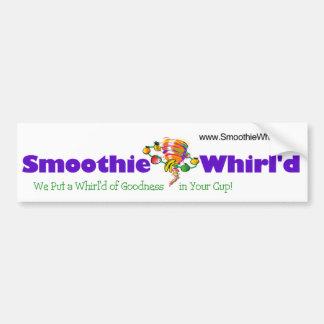 Pegatina para el parachoques de Whirl'd del Smooth Etiqueta De Parachoque