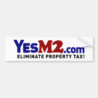 pegatina para el parachoques de YesM2.com Etiqueta De Parachoque