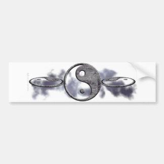 Pegatina para el parachoques de Yin Yang Pegatina De Parachoque