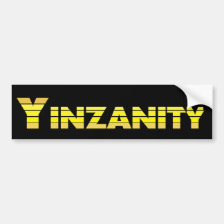 Pegatina para el parachoques de YINZANITY Pegatina Para Auto