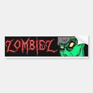 Pegatina para el parachoques de ZombieZ Etiqueta De Parachoque