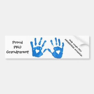 Pegatina para el parachoques del abuelo de PKU Pegatina Para Auto
