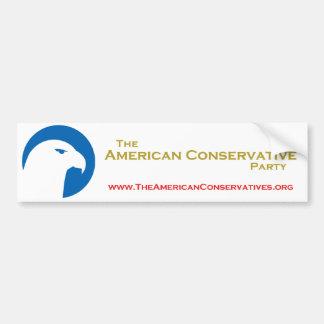 Pegatina para el parachoques del ACP Etiqueta De Parachoque