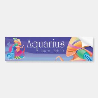 Pegatina para el parachoques del acuario de Idolz Pegatina De Parachoque