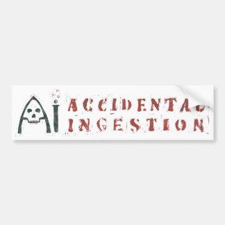 Pegatina para el parachoques del AI Pegatina Para Auto