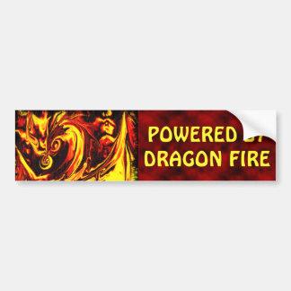 Pegatina para el parachoques del alcohol del fuego etiqueta de parachoque
