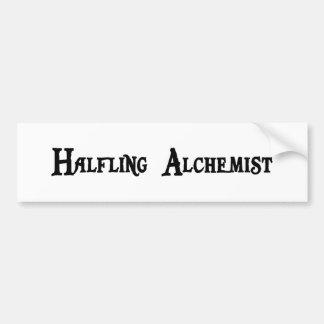 Pegatina para el parachoques del alquimista de Hal Etiqueta De Parachoque
