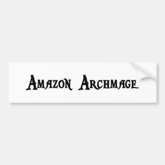 Pegatina para el parachoques del Amazonas Archmage