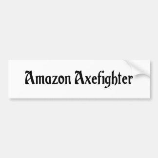 Pegatina para el parachoques del Amazonas Axefight Etiqueta De Parachoque