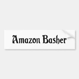 Pegatina para el parachoques del Amazonas Basher Etiqueta De Parachoque