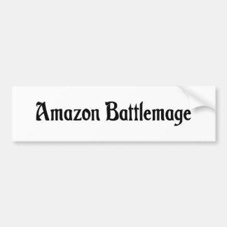 Pegatina para el parachoques del Amazonas Battlema Pegatina De Parachoque