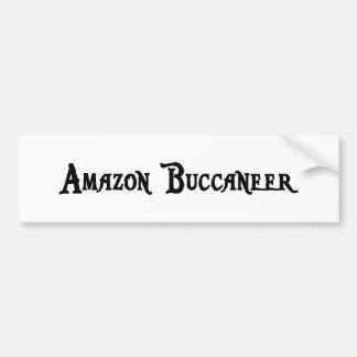 Pegatina para el parachoques del Amazonas Bucanero