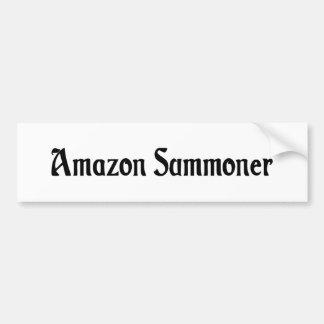 Pegatina para el parachoques del Amazonas Summoner Pegatina De Parachoque