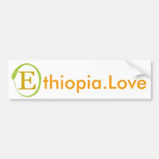 Pegatina para el parachoques del amor de EOR Etiop Pegatina Para Auto