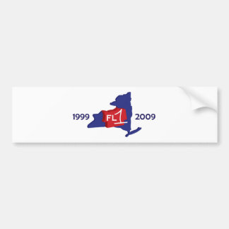 Pegatina para el parachoques del aniversario FL1 1 Etiqueta De Parachoque