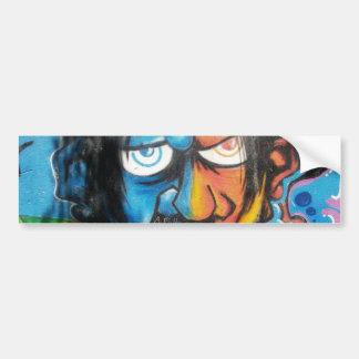 Pegatina para el parachoques del arte de la pintad pegatina para auto