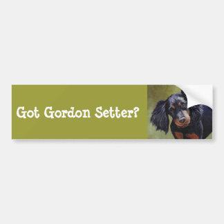 Pegatina para el parachoques del arte del perro de pegatina para auto
