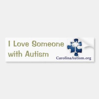 Pegatina para el parachoques del autismo pegatina para auto