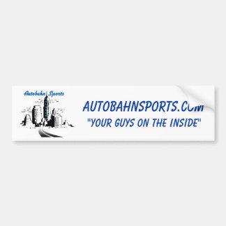 Pegatina para el parachoques del Autobahn Pegatina Para Auto