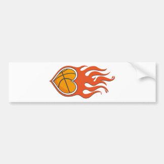 Pegatina para el parachoques del baloncesto del pegatina para auto